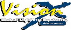 VISION X Lighting - VISION X 09-13 DODGE FOG LIGHT MOUNTING KIT WITH MIXED OPTICS (4 lights)    -XIL-OE0913DROP1MX2