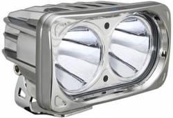 POD LIGHTING - OPTIMUS SERIES - VISION X Lighting - Vision X OPTIMUS SQUARE CHROME 2 10W LEDS 10, 20 or 60 DEGREE SINGLE   -XIL-OP2C