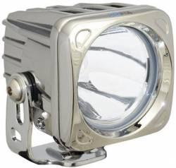 POD LIGHTING - OPTIMUS SERIES - VISION X Lighting - Vision X OPTIMUS SQUARE CHROME 1 10W LED 10, 20, 60 Degree SINGLE   -XIL-OPC
