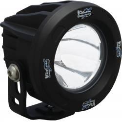 POD LIGHTING - OPTIMUS ROUND - VISION X Lighting - Vision X OPTIMUS ROUND BLACK 1 10W LED 10, 20 or 60 Degree SINGLE   -XIL-OPR