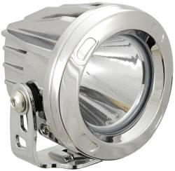 POD LIGHTING - OPTIMUS ROUND - VISION X Lighting - Vision X OPTIMUS ROUND CHROME 1 10W LED 10, 20 or 60 Degree SINGLE   -XIL-OPRC