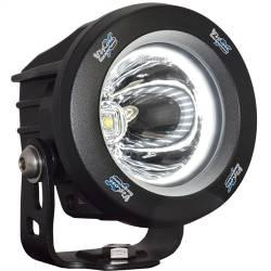 POD LIGHTING - OPTIMUS ROUND - VISION X Lighting - VISION X OPTIMUS ROUND HALO INTEGRATED LED *SINGLE* - XIL-OPRH115