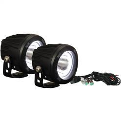 POD LIGHTING - OPTIMUS ROUND - VISION X Lighting - VISION X OPTIMUS ROUND HALO INTEGRATED LED KIT - XIL-OPRH115KIT