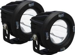 Lighting - VISION X Lighting - Vision X OPTIMUS ROUND BLACK 1 10W LED 10, 20 or 60 Degree KIT OF 2 LIGHTS     -XIL-OPRKIT