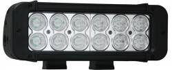 "LIGHT BARS - XMITTER PRIME SINGLE STACK - VISION X Lighting - Vision X 8"" XMITTER PRIME LED BAR BLACK 12 3-WATT LED'S 10 OR 40 DEGREE   -XIL-P1210"