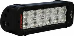 "LIGHT BARS - XMITTER PRIME XTREME SERIES - VISION X Lighting - Vision X 8"" XMITTER PRIME XTREME LED BAR BLACK 12 5W LED'S 10 OR 40 DEGREE      -XIL-PX1210"