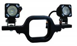 ACCESSORIES - SOLSTICE SOLO MOUNTS - VISION X Lighting - Vision X SOLSTICE SOLO TRAILER HITCH MOUNT FOR 2 LIGHTS     -XIL-SRECEIVER