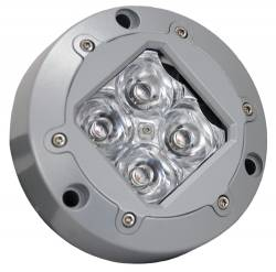 """SPECIALTY LIGHTING - SUBAQUA - VISION X Lighting - Vision X 4.13"""" SUBAQUA LED LIGHT 4 3W LED'S 10 OR 40 DEGREE - LEDs AVAILABLE IN AMBER, BLUE, GREEN, RED OR WHITE    -XIL-U40-U41"""