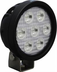 "LED LIGHTS - UTILITY MARKET - VISION X Lighting - Vision X 4"" ROUND UTILITY MARKET BLACK 7 3W LED'S 10, 40 OR 60 DEGREE AND AVAILABLE IN AMBER, RED OR BLUE LEDs      -XIL-UM40"