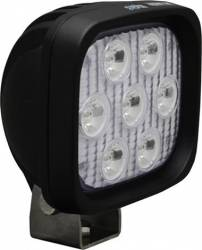 "LED LIGHTS - UTILITY MARKET - VISION X Lighting - Vision X 4"" SQUARE UTILITY MARKET BLACK 7 3W LED'S 10, 40 OR 60 DEGREE ALSO AVAILABLE IN AMBER, RED OR BLUE LEDs       -XIL-UM44"