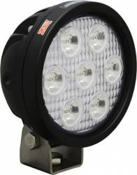 "LED LIGHTS - UTILITY MARKET XTREME - VISION X Lighting - Vision X 4"" ROUND UTILITY MARKET XTREME BLACK 7 5W LED'S 10, 40 OR 60 DEGREE   -XIL-UMX40"