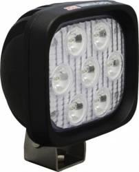 "LED LIGHTS - UTILITY MARKET XTREME - VISION X Lighting - Vision X 4"" SQUARE UTILITY MARKET XTREME BLACK 7 5W LED'S 10, 40 OR 60 DEGREE   -XIL-UMX44"
