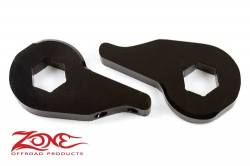 "2002-05 Dodge 1/2 Ton Pickup - Zone Offroad Products - Zone Offroad - Zone Offroad 2"" Leveling Keys Dodge 1/2 Ton Pickup 4WD 02-05 - D1200"