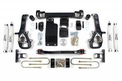"2002-05 Dodge 1/2 Ton Pickup - Zone Offroad Products - Zone Offroad - Zone Offroad 5"" IFS Suspension Lift Kit System for 02-05 Dodge Ram 1500 Pickup 4WD - D14"