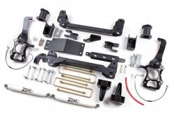 "2004-08 Ford F150 - Zone Offroad Products - Zone Offroad - Zone Offroad 6"" Suspension Lift Kit System for 04-08 Ford F150 4WD - F7"