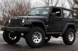 "Zone Offroad - Zone Offroad 3"" Jeep Wrangler JK 2 Door/4 Door/Rubicon 07-18 Suspension System Lift Kit - J12N / J13N - Image 2"