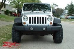 "Zone Offroad - Zone Offroad 3"" Jeep Wrangler JK 2 Door/4 Door/Rubicon 07-18 Suspension System Lift Kit - J12N / J13N - Image 7"