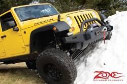 "Zone Offroad - Zone Offroad 4"" Jeep Wrangler JK 2 Door/4 Door/Rubicon 07-18 Suspension System Lift Kit - J14N / J15N - Image 3"
