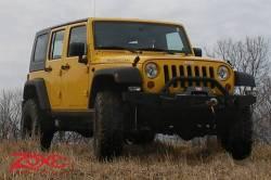 "Zone Offroad - Zone Offroad 4"" Jeep Wrangler JK 2 Door/4 Door/Rubicon 07-18 Suspension System Lift Kit - J14N / J15N - Image 4"