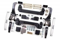 "TOYOTA - 2007-14 Toyota Tundra - Zone Offroad - Zone Offroad 5"" Suspension Lift Kit System 07-15 Toyota Tundra -T1"