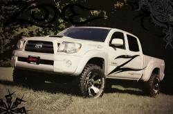 """Zone Offroad - Zone Offroad 2 1/2"""" Toyota Tacoma 4WD 05-16 Leveling Kit - T1251 - Image 2"""