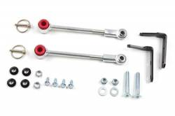 "Suspension Build Components - Sway Bars & Components - Zone Offroad - Zone Front Sway Bar Disconnects for 3-4.5"" of Lift 87-95 Jeep YJ Wrangler     -J5321"