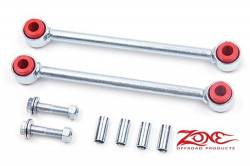 "Suspension Build Components - Sway Bars & Components - Zone Offroad - Zone Rear Fixed Sway Bar Links for 4"" of Lift 07-15 Jeep JK Wrangler    -J5400"