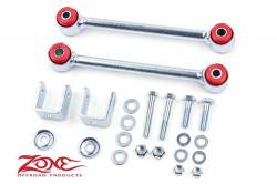 "Suspension Build Components - Sway Bars & Components - Zone Offroad - Zone Front Sway Bar Links for 4.5"" Lift 84-01 Jeep XJ Cherokee, 93-98 Jeep ZJ Grand Cherokee     -J5452"
