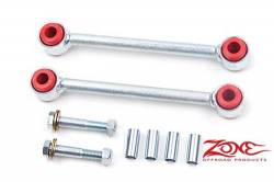 "Suspension Build Components - Sway Bars & Components - Zone Offroad - Zone Front Fixed Sway Bar Links for 5-6"" of Lift 07-15 Jeep JK Wrangler     -J5500"