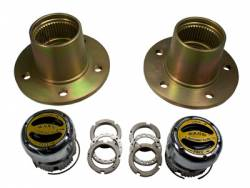 "Differential & Axle - Front Axle Shafts - Including CV Axles - Yukon Gear & Axle - Front Hub conversion, Scout, 5 X 5.5""."