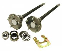 "Differential & Axle - Rear Axle Shafts - USA Standard - Ford 9"" Bronco axle kit, '76-'77, 28 spline"