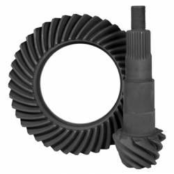 """Ford - 7.5"""" 10 Bolt Rear - Yukon Gear & Axle - High performance Yukon Ring & Pinion gear set for Ford 7.5"""" in a 4.56 ratio"""