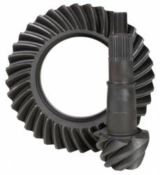 """USA standard ring & pinion gear set for Ford 8.8"""" Reverse rotation in a 4.56 ratio."""