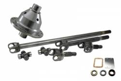 4340 Chromoly Axle Shafts - Dana 30 - Yukon Gear & Axle - Yukon 30 spline UPGRADE For Jeep Dana 30 - 4340 Chrome-Moly axle & Grizzly Locker kit with SPICER JOINTS for Jeep TJ, XJ, YJ & ZJ.