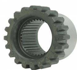 "Differential & Axle - Pinion Yokes & Flanges - Yukon Gear & Axle - Yukon 35 spline (outside spline) male coupler for 9"" Ford."