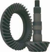 Ring & Pinion Sets - Nissan - Yukon Gear & Axle - Yukon ring & pinion set for '08 & up Nissan Titan rear, 3.13 ratio.