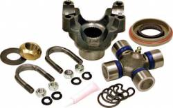 Pinion Yokes & Flanges - Dana Spicer - Yukon Gear & Axle - Yukon replacement trail repair kit for Dana 60 with 1350 size U/Joint and u-bolts