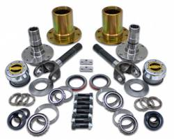 "Differential & Axle - Locking Hubs / Drive Flanges - Yukon Gear & Axle - Spin Free Locking Hub Conversion Kit for Dana 30 TJ, XJ, YJ, 30 Spline, 5 x 5.5"" Pattern"