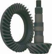 "Ring & Pinion Sets - Hummer - Yukon Gear & Axle - High performance Yukon Ring & Pinion gear set for GM 9.25"" IFS Reverse rotation in a 4.56 ratio"