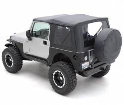 Body Armor - Rear Corner / Quarter Panel Armor - Jeep Wrangler YJ 87-95