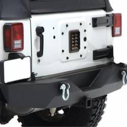 Bumpers & Tire Carriers - Jeep Wrangler JK 07-PRESENT - Rear Bumpers & Tire Carriers