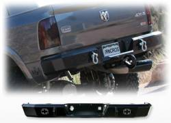 IRON CROSS - HEAVY DUTY BUMPERS - REAR