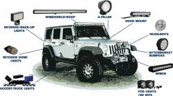 VISION X Lighting - VEHICLE SPECIFIC - JEEP WRANGLER JK | 07-18