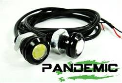 Jeep - Jeep LJ Wrangler 04-06 - 1 PAIR OF LED ULTRA BRIGHT WHITE LIGHTS - UNIVERSAL - PAN-LED-BACKUP-1-2