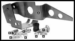 JKS Manufacturing - JKS FAB Front Trackbar Brace for Jeep Wrangler JK - Image 3