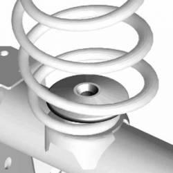 JKS Manufacturing - JKS Rear Coil Spring Retainer for Jeep Wrangler JK, 2007-2015 - Image 2