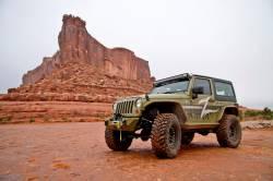 "Zone Offroad - Zone Offroad 4"" Jeep Wrangler JK 2 Door/4 Door/Rubicon 07-18 Suspension System Lift Kit - J14N / J15N - Image 5"