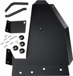 Jeep Wrangler JK 07- UP - Skid Plates - Sliders - Rock Hard 4x4 - ROCK HARD 4X4 OIL PAN / TRANSMISSION SKID PLATE - SHORT ARM/FACTORY SUSPENSION FOR JEEP WRANGLER JK 2/4DR 2007 - 2016   -RH6003