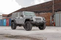 """Rough Country - Rough Country 2007 - 2018 Jeep JK Wrangler 4"""" Suspension *Select Model* - 682S-681S - Image 2"""