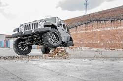 """Rough Country - Rough Country 2007 - 2018 Jeep JK Wrangler 4"""" Suspension *Select Model* - 682S-681S - Image 3"""